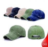 6 Panel Cap - Denim