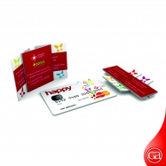 Promotion Gimmicks-001 Never Ending folding Card